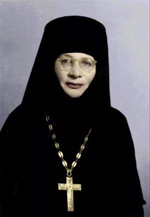 Наместница Святого Елеонского монастыря в 1951–1975 гг. Игуменья Тамара (Романова-Багратион-Мухранская)