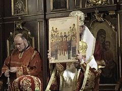 Czech-Slovak and Serbian hierarchs celebrate canonization of several New Martyrs