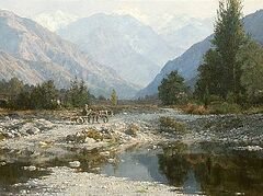 Καλλιτέχνης Αντόν Οβσιανικόβ. Διαλεχτά έργα