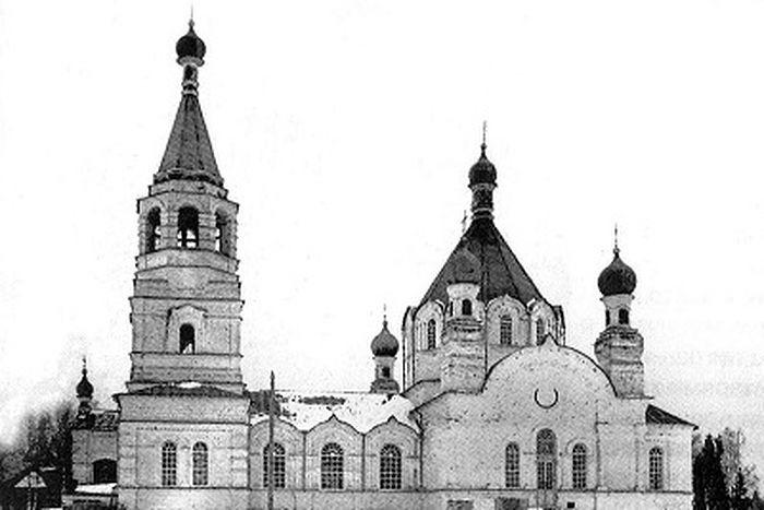 Владимирская церковь с. Пиксур. 1930-е гг.