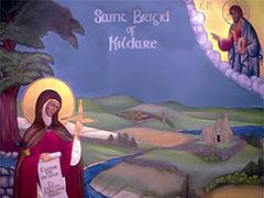Преподобная Бригита, игуменья Кильдарская