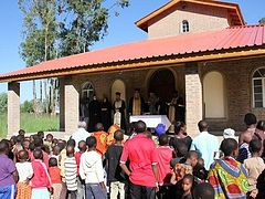 First Orthodox monastery in Tanzania celebrates its first Divine Liturgy