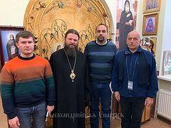 Управляющий Александрийской епархией Украинской Православной Церкви сообщил наблюдателям ОБСЕ о незаконной перерегистрации приходов в регионе