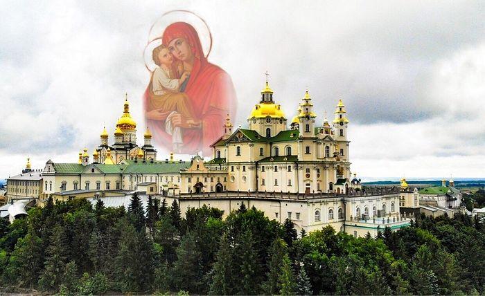 Holy Dormition Pochaev Lavra. Photo: vidviday.ua