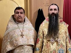 Ukrainian priest repents and returns to Orthodox Church from schism