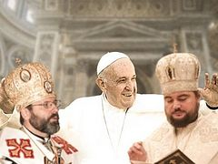 Ukrainian schismatics promote unification of Orthodoxy and the papacy—Greek Metropolis of Piraeus