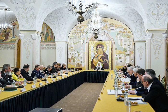 Святейший Патриарх Кирилл возглавил заседание Патриаршего совета по культуре