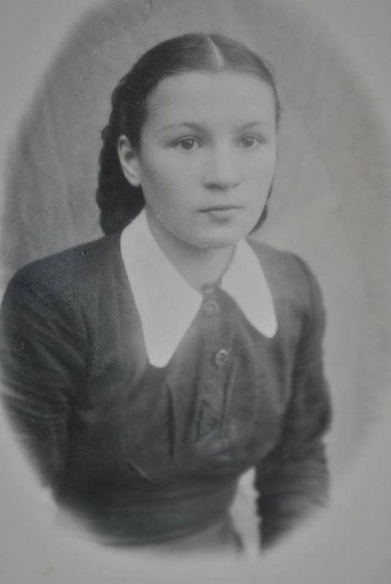 Η Όλγα Μιχαλιόβα σε ηλικία 15 ετών