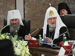 Amman gathering: Pat. Kirill pinpoints 6 serious problems facing Church today, Romanian metropolitan calls for preparatory conference to set agenda for future pan-Orthodox council