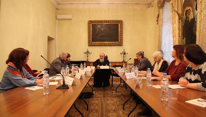 В Издательском Совете прошел круглый стол «Образ семьи в русской литературе: от классики до наших дней»