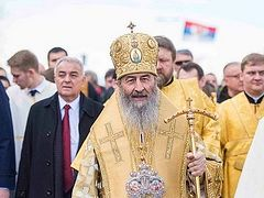 Metropolitan Onuphry leads 100,000+ in procession in Montenegro in honor of St. Symeon the Myrrh-Gusher (+VIDEOS)