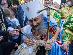 Metropolitan Onuphry: I want to see a Ukraine where love for Christ comes first