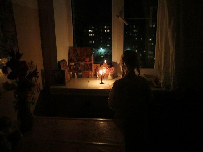 Παιδική προσευχή. Φωτογραφία: Γκενάντι Τίχονοφ