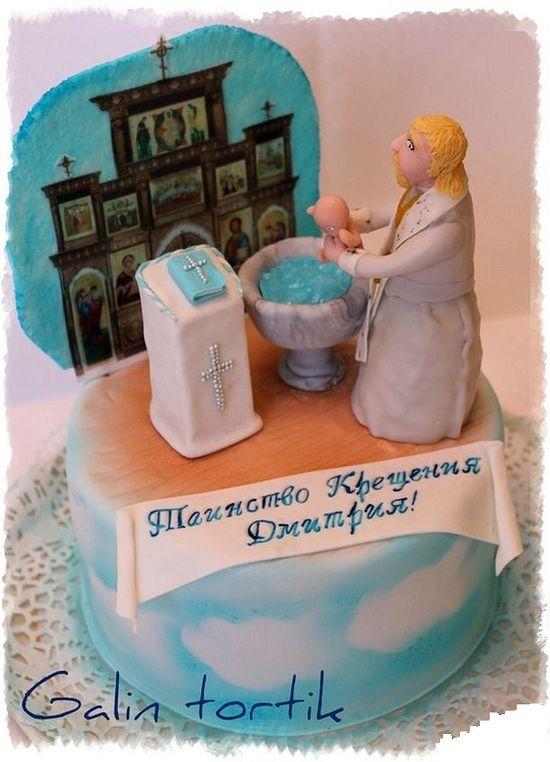 Торт со съедобным иконостасом