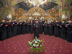 Divine Liturgy, Hymns on Lazarus Saturday chanted by Tronos Choir available on Spotify