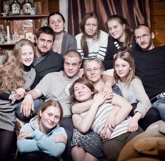 Семья Лаврик с Любовью Соколовой