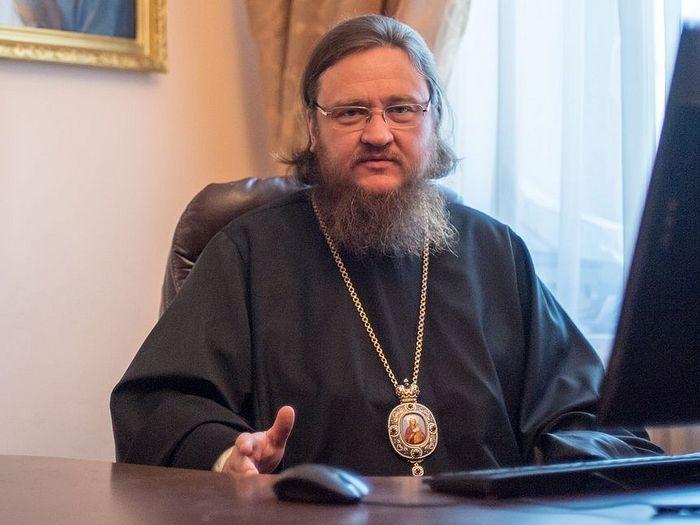Ο Αρχιεπίσκοπος κ.Θεοδόσιος (Σνιγκιριόβ), βικάριος της Μητρόπολης Κιέβου της Ουκρανικής Ορθόδοξης Εκκλησίας