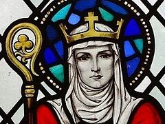 Mystery solved: Bones found in church wall are from English princess saint