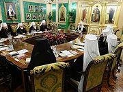 Святейший Патриарх Кирилл возглавил первое в 2020 году заседание Священного Синода Русской Православной Церкви