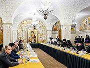 Святейший Патриарх Кирилл провел общее собрание членов Совета попечителей Храма Христа Спасителя