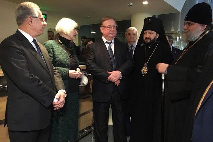 В Москве состоялся премьерный показ документального фильма «Паломничество: Россия — Кипр — Святая Земля»