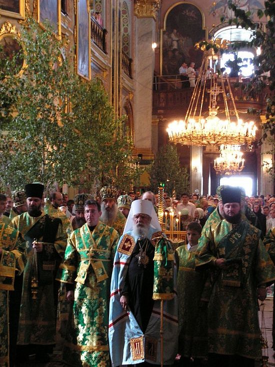 A glorious homecoming—Metropolitan Laurus in Pochaev