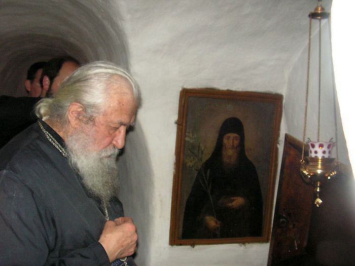 Metropolitan Laurus in the Kiev Caves Lavra