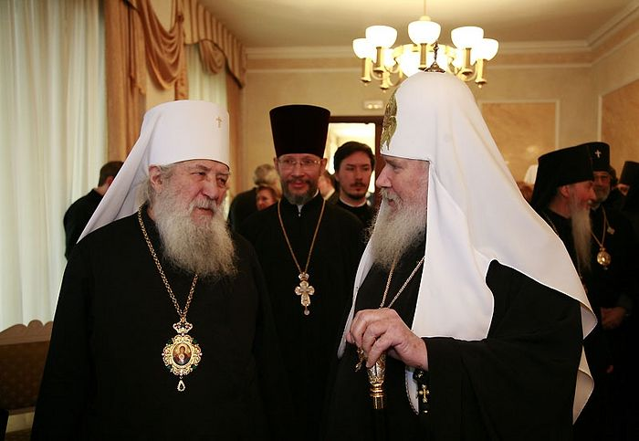 Metropolitan Laurus and Patriarch Alexy II