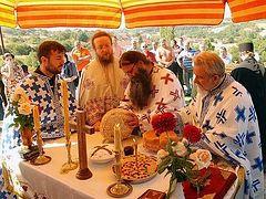 Η γιορτή της αποτομής της κεφαλής του Τιμίου Προδρόμου και Βαπτιστή Ιωάννου στη Βέλικα Χότσα