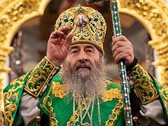 Metropolitan Onuphry: observe good hygiene, but if we repent of our sins we will destroy this virus