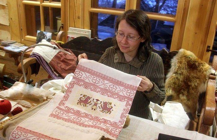Ирина Пономарева, мастер традиционной вышивки
