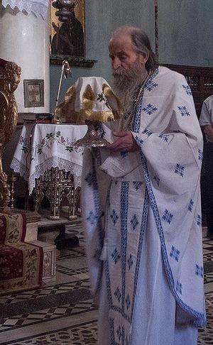 "Архимандрит Павел (Буюрас). Фото: facebook ""Friends of Mount Sinai Monastery"""