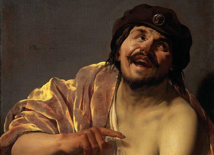Демокрит који се смеје. Сликар: Хендрик Тербриген, 1628.