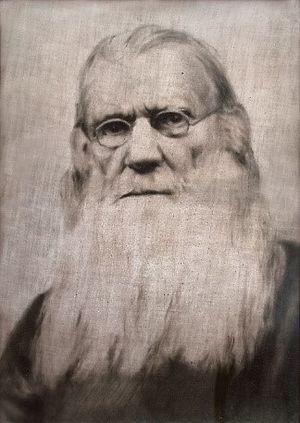 Рисунок «Дед, отец Василий», 1929