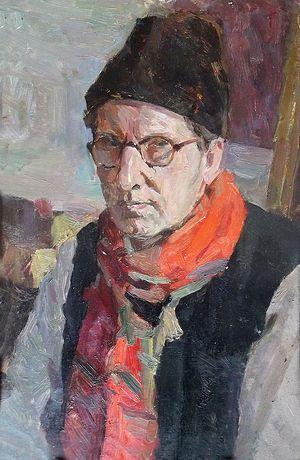 Сергей Вознесенский. Автопортрет, 1955