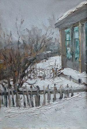 Этюд Зимний,1957