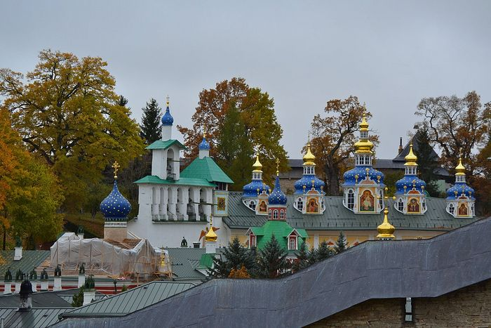 О посещении Свято-Успенского Псково-Печерского монастыря