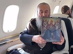 Metropolitan Onuphry blesses Ukraine from above (+VIDEO)