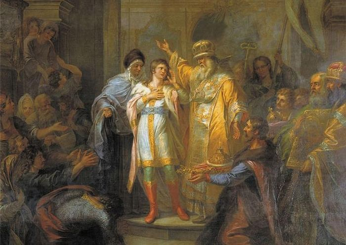 Призвание на царство Михаила Романова (Григорий Угрюмов, ок. 1800)