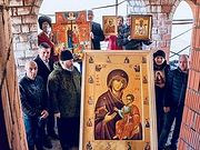 Совершен молитвенный объезд Санкт-Петербурга с Иверской иконой Божией Матери