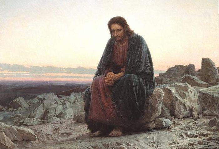Картина «Христос в пустыне» художника Ивана Крамского / www.tretyakovgallery.ru