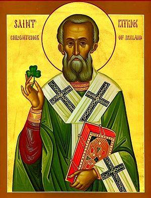 Икона свт. Патрика Ирландского