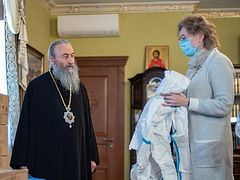 Ukrainian Church gave $160,000 to hospitals, the needy, and Metropolis of Beirut in 2020