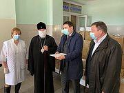 Священнослужители Украинской Православной Церкви передали медикам во всех областях Украины тесты для выявления коронавируса