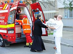 Covid-19 | Romanian Orthodox Church initiates dozens of support measures for hospitals and people