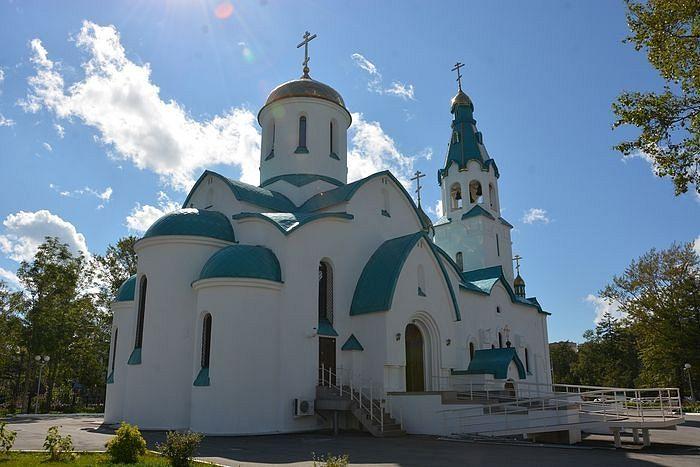 Kαθεδρικός ναός τής Ανάστασης τής Γιούζνο – Σαχαλίνσκ. Φωτογραφία: Αντόν Ποσπέλοφ / pravoslavie.ru