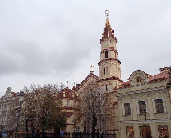 Церковь св. Николая в Вильнюсе