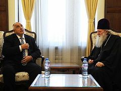 """Bulgarian Prime Minister: """"The Church saved us from Ottoman slavery. I can't come close the churches"""""""
