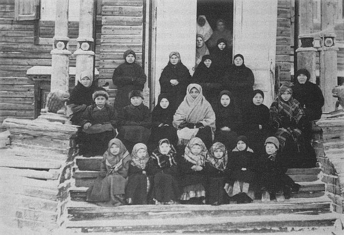 Nuns of the Kondinskoe Monastery