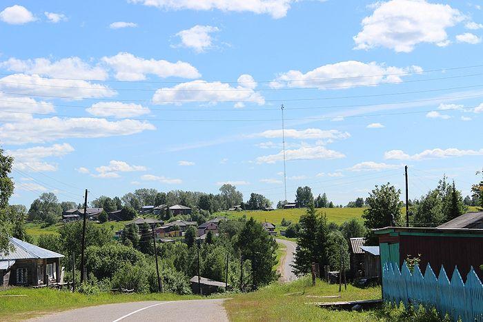 Деревня Аныб - родина Раисы Нестеровой